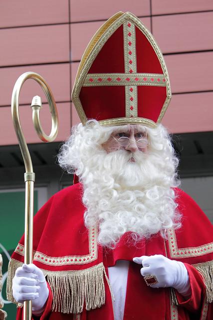 Sinterklaas in de Diestsestraat