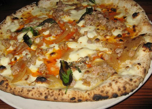 House-Made Sausage Real Neapolitan Pizza