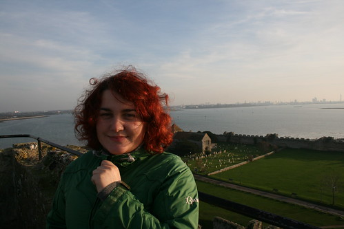 Portchester view and I