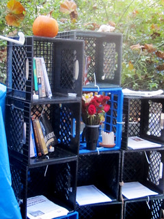 Occupy SF: Outdoor Bookshelf
