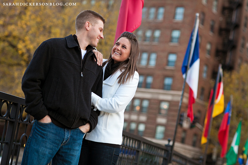 Country Club Plaza engagement photos