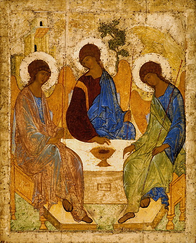 Andrey  Rublev  Св. Троица - Holy Trinity by greta_g