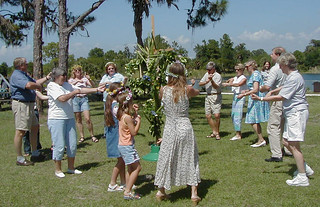 Osprey - Swedes Dance around the Maypole for Midsommar