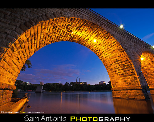Stone Arch Bridge - Minneapolis, Minnesota by Sam Antonio Photography