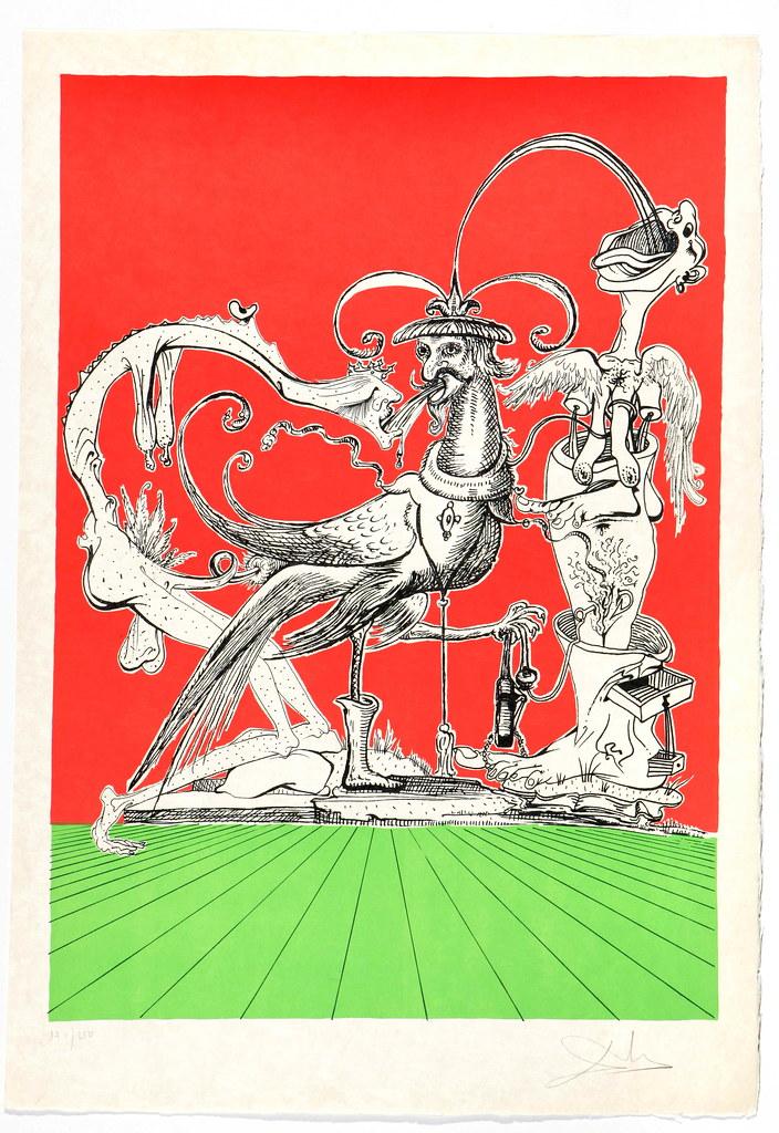 Salvador Dali - Pantagruel 11 (1974)
