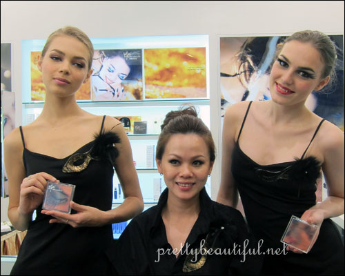 Lisa with Models