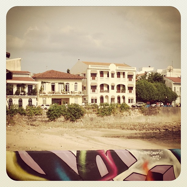 View from the future #communitygarden in #cascoantiguo #panamá