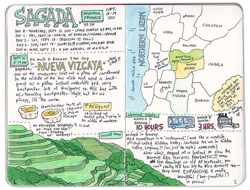 My travel journal: Sagada 1/5