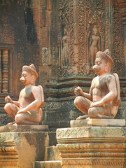 Banteay Srei Monkey Warriors