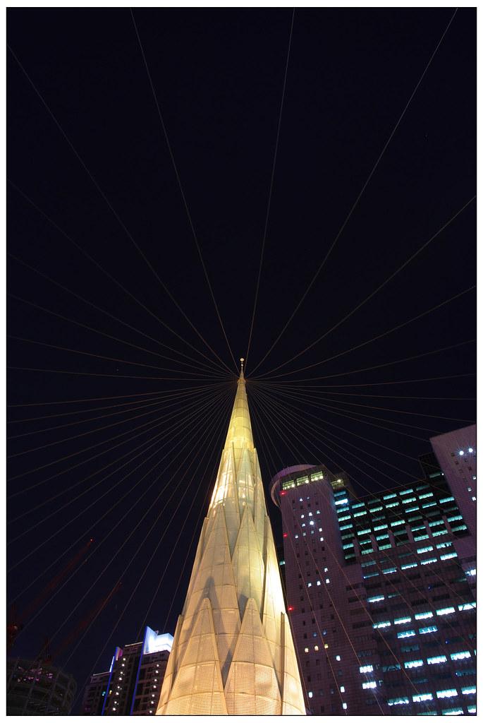 板橋火車站夜拍