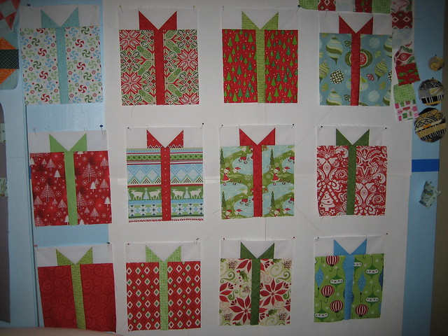 Christmas gifts quilt Flickr - Photo Sharing!