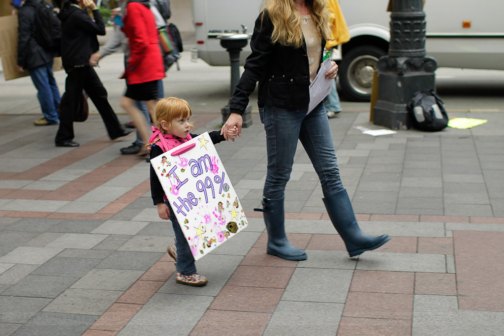 occupy seattle - i am the 99%