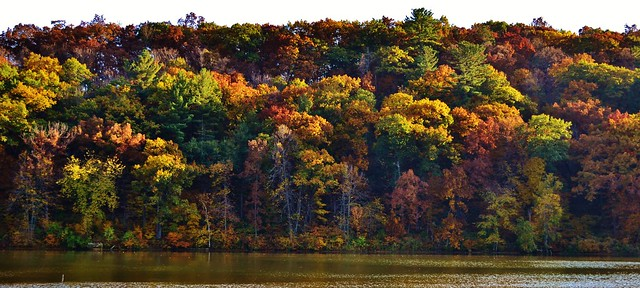 Governor Dodge State Park in the Fall