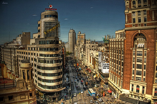 Bello Madrid.... by chucafox