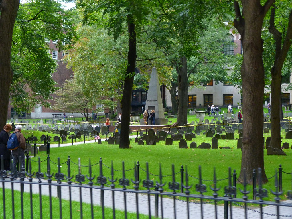 The Granary Burying Ground - Boston MA