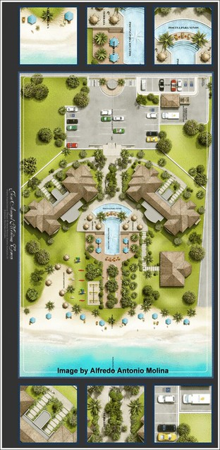 2d landscape architecture rendering realistic and colorful for 2d architecture software free