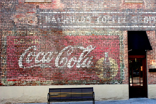 Faded Coca-Cola Mural - Dayton, TN