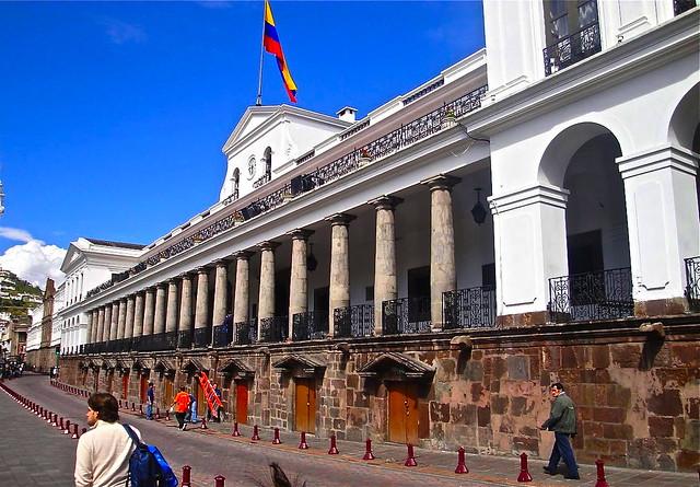 President s house quito ecuador flickr photo sharing