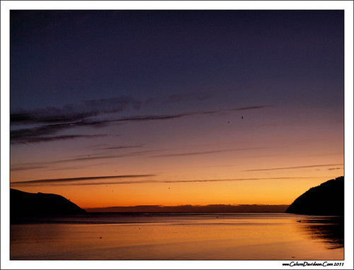 sea sky sunrise scotland highlands cromarty sutor gloaming