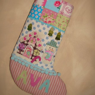 Christmas stocking for AVA1