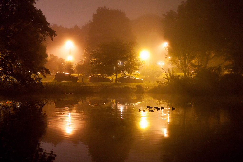 Night Fog - Albany, NY - 2011, Sep - 06.jpg by sebastien.barre