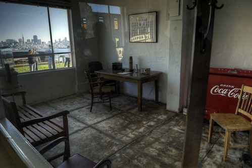 Guards Room, Alcatraz (HDR)