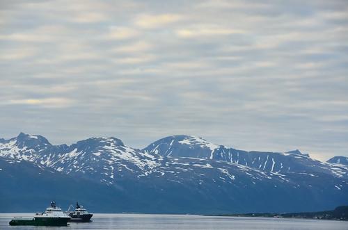 Bay around Tromsø