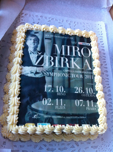 Birthday Cake Live Images ~ Miro birka s surprise birthday cake live concert in brno flickr photo sharing