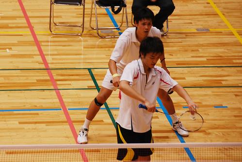 20111017全日本学生バドミントン選手権