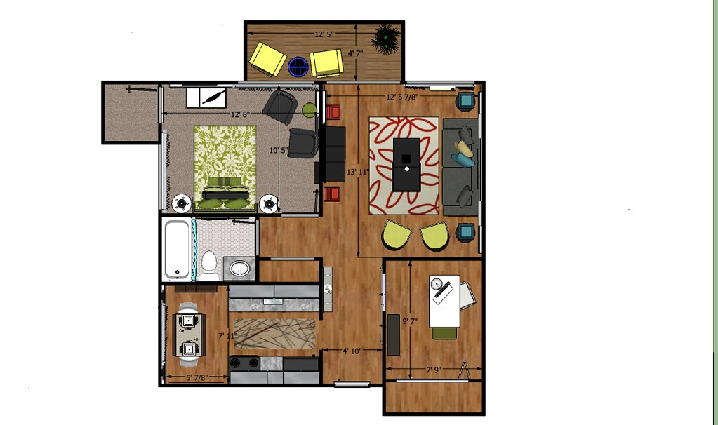 13 Mile Floor Plan