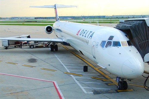 Delta Air Lines MD-88; N933DL@ORD;12.10.2011/624by