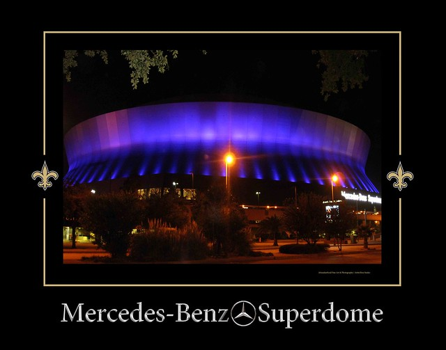 mercedes benz superdome in purple flickr photo sharing. Cars Review. Best American Auto & Cars Review