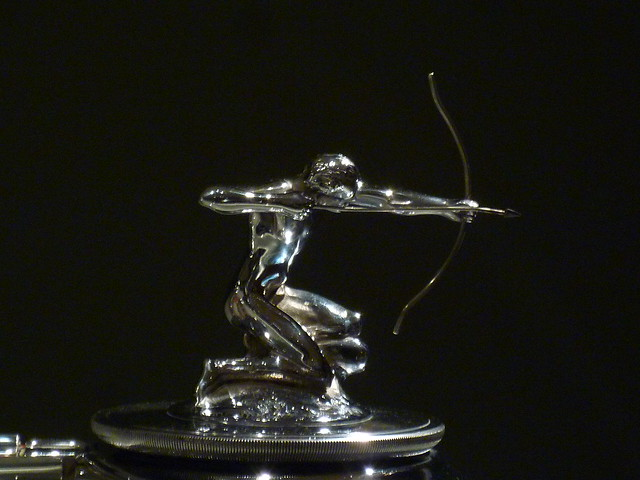 archer hood ornament