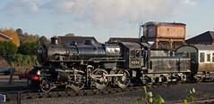 43106 arrives at Kidderminster