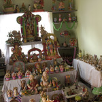 Golu- a exhibition of variety of idols