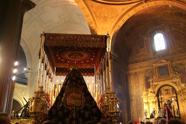 Hermandad del Valle de Sevilla, Jueves Santo 2011 12