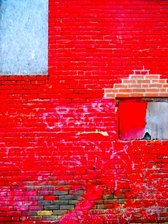 the red wall