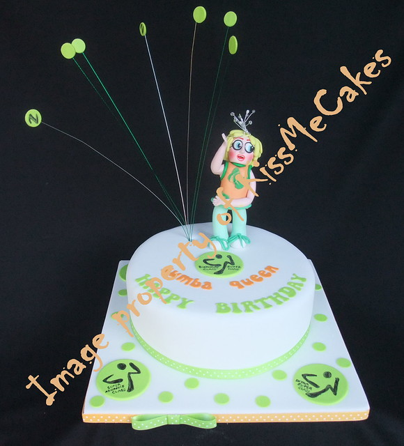 Zumba Birthday Cake http://www.flickr.com/photos/47415412@N02/6339946551/