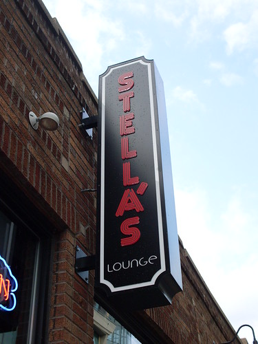 Stella's Lounge Sign, Grand Rapids, MI