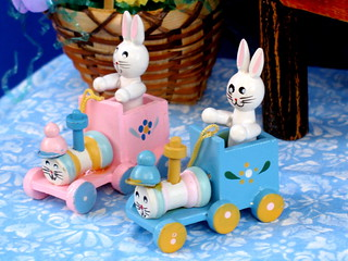 Bunny Trains