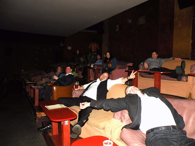 Lounging In the Theater