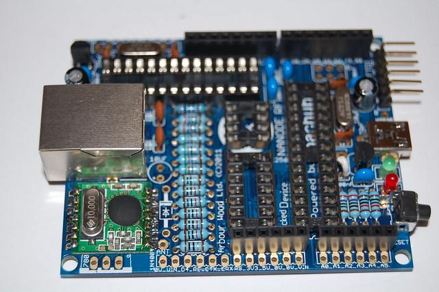 BD3 - Step 26 - RFM12B RF Module