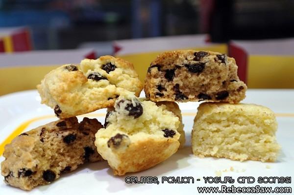 Crumbs Pavilion - yogurt and scones-2
