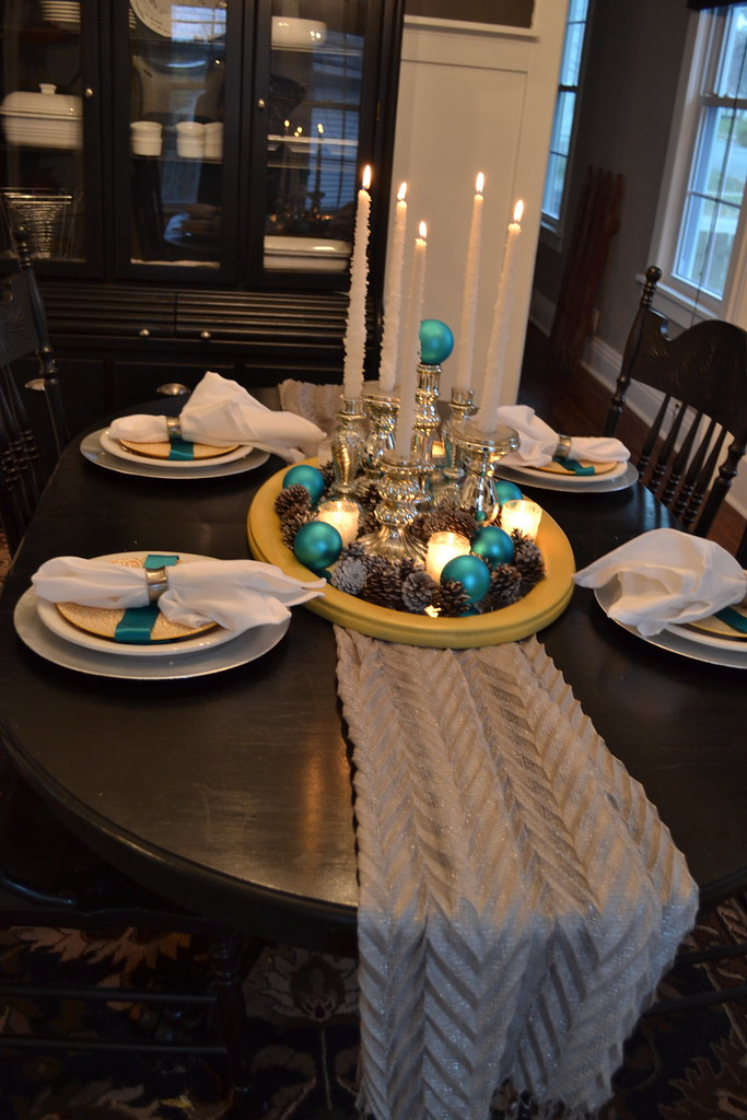 An Untraditional Holiday Table