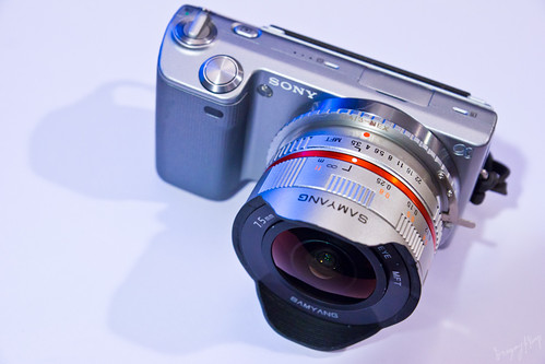 NEX-5 + Samyang 7.5mm by Greg Kemp