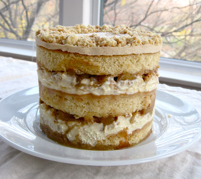 Apple-pie Layer Cake