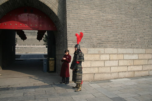2011-11-18 - Xian - City wall - 02 - Right guard