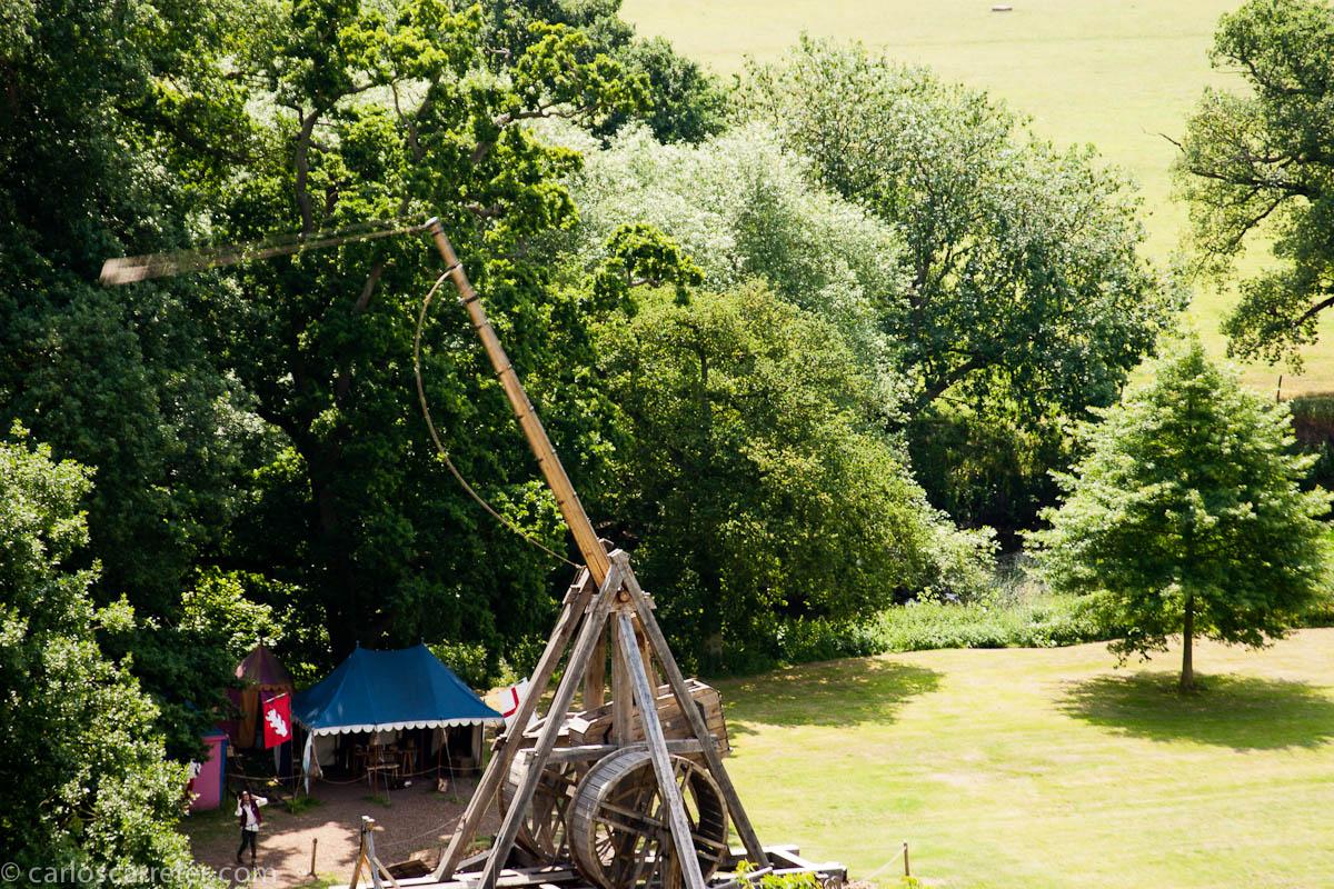 Catapultas en Warwick