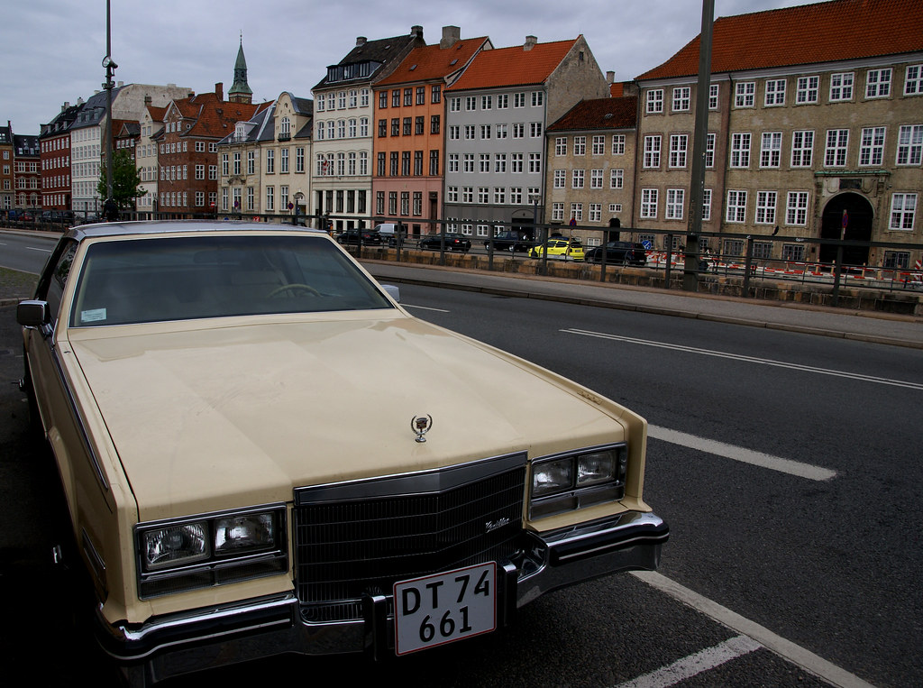 Cadillac in Copenhagen
