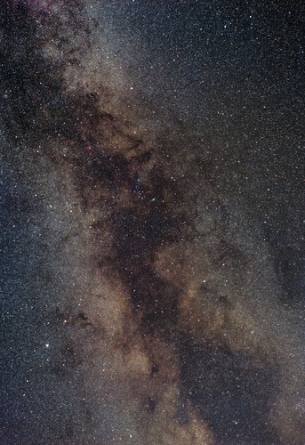 Legacy Astrophotography: Summer's Mid-Rift by Nightfly Photography